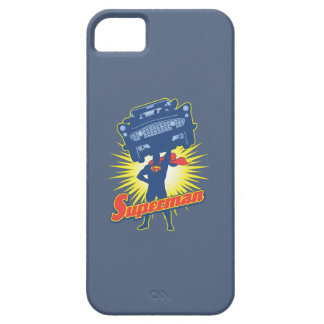 Superman lifts a car 2 barely there iPhone 5 case
