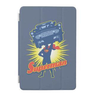 Superman lifts a car 2 iPad mini cover