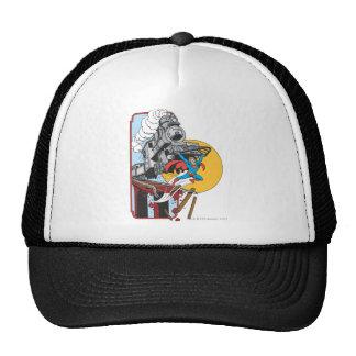 Superman Lifts Train Trucker Hats