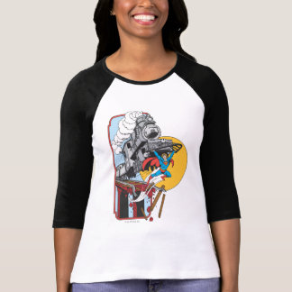Superman Lifts Train T-Shirt