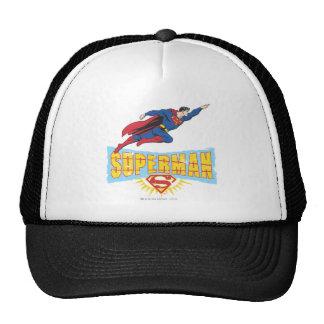 Superman Logo and Flight Mesh Hats