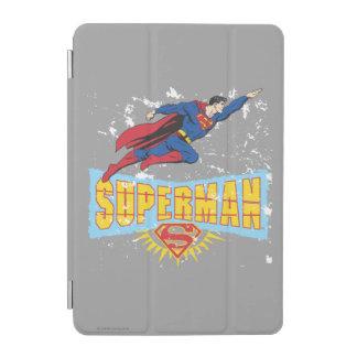 Superman Logo and Flight iPad Mini Cover