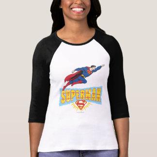 Superman Logo and Flight T-Shirt
