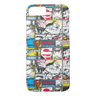 Superman Logo Pattern 2 iPhone 8/7 Case