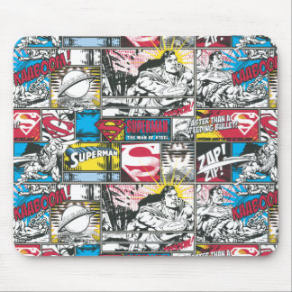 Superman Logo Pattern 2 Mouse Mat