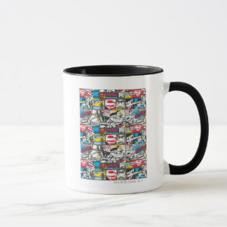 Superman Logo Pattern 2 Mug