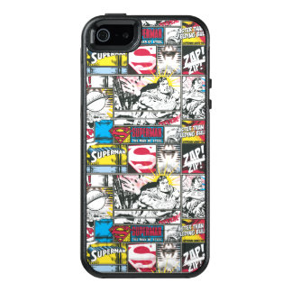 Superman Logo Pattern 2 OtterBox iPhone 5/5s/SE Case