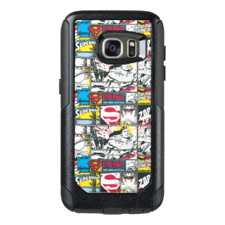 Superman Logo Pattern 2 OtterBox Samsung Galaxy S7 Case