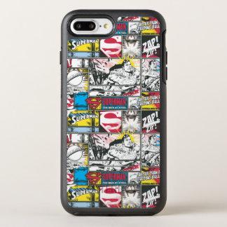 Superman Logo Pattern 2 OtterBox Symmetry iPhone 7 Plus Case