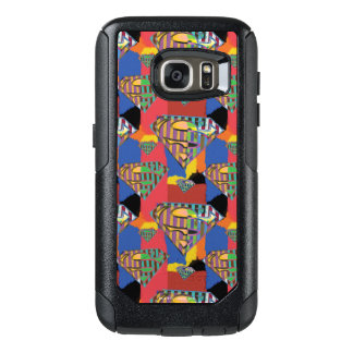 Superman Logo Pattern 3 OtterBox Samsung Galaxy S7 Case
