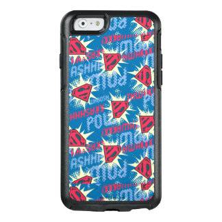 Superman Logo Pattern OtterBox iPhone 6/6s Case