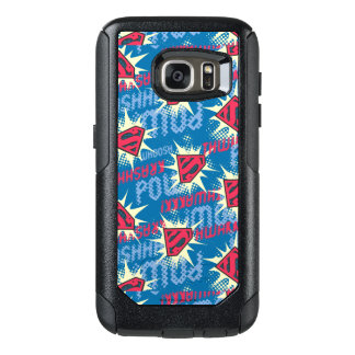 Superman Logo Pattern OtterBox Samsung Galaxy S7 Case