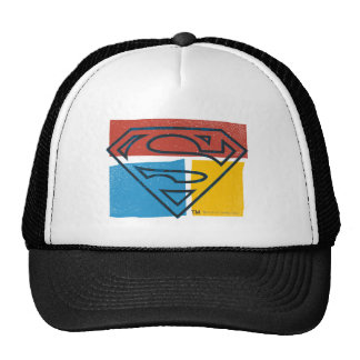 Superman Logo with Colors Hat