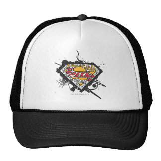 Superman Logo with letters Trucker Hat