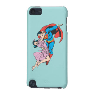 Superman & Lois in Pink iPod Touch (5th Generation) Cases