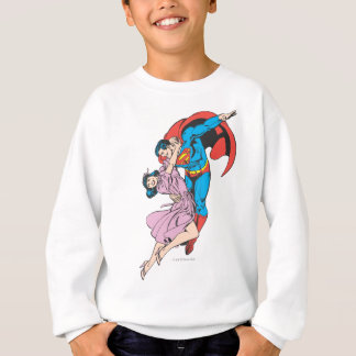 Superman & Lois in Pink Sweatshirt