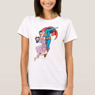 Superman & Lois in Pink T-Shirt