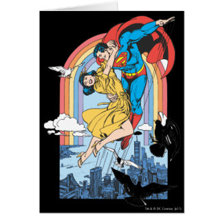 Superman & Lois in Yellow Greeting Card