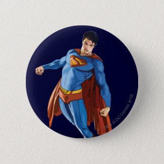 Superman Looking Down 6 Cm Round Badge