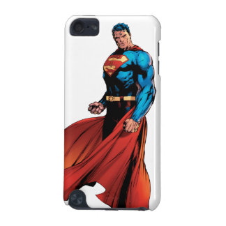 Superman Looks Front iPod Touch (5th Generation) Cover