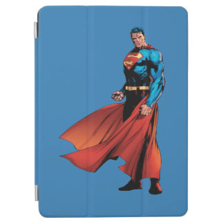 Superman Looks Front iPad Air Cover