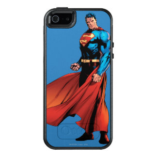 Superman Looks Front OtterBox iPhone 5/5s/SE Case