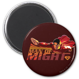 Superman Man of Might Magnet