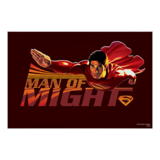Superman Man of Might Poster
