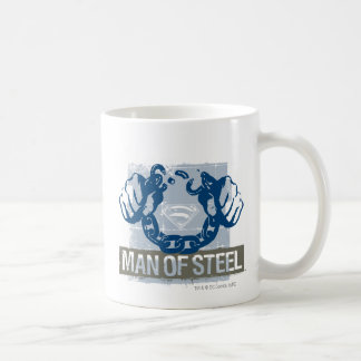 Superman Man of Steel Coffee Mug