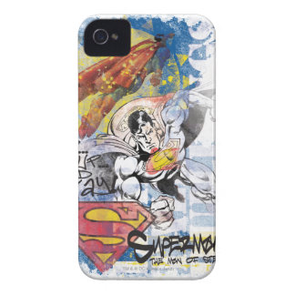Superman Man of Steel iPhone 4 Case-Mate Cases