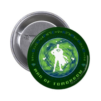 Superman Man of Tomorrow 6 Cm Round Badge