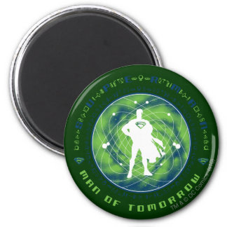 Superman Man of Tomorrow 6 Cm Round Magnet