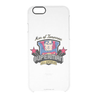 Superman - Man of Tomorrow Clear iPhone 6/6S Case