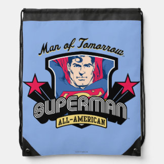 Superman - Man of Tomorrow Drawstring Bag