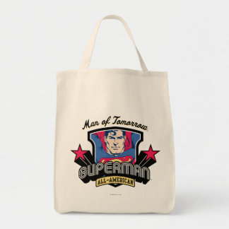 Superman - Man of Tomorrow Tote Bag