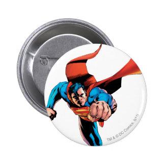 Superman moving forward pin