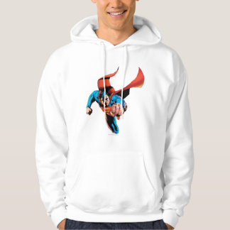 Superman moving forward hoodie