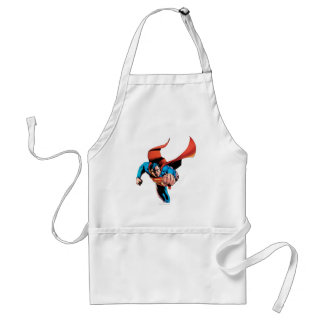 Superman moving forward standard apron