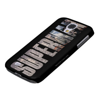 Superman Name Galaxy S4 Case