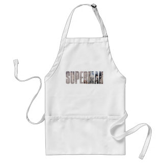 Superman Name Standard Apron