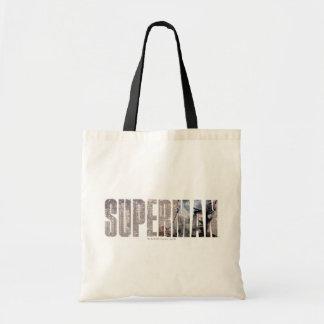Superman Name Tote Bag