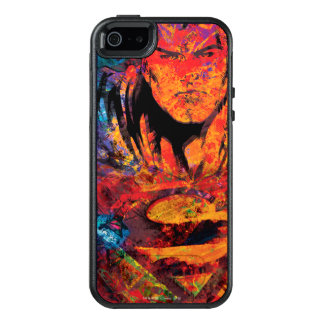 Superman Orange Grunge OtterBox iPhone 5/5s/SE Case