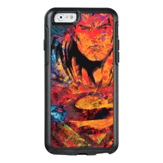 Superman Orange Grunge OtterBox iPhone 6/6s Case