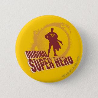 Superman Original Super Hero 6 Cm Round Badge