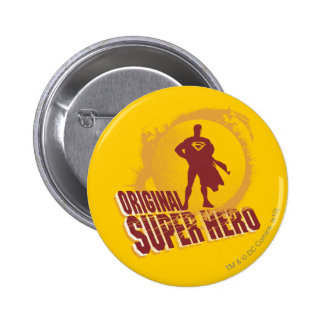 Superman Original Super Hero 6 Cm Round Badge