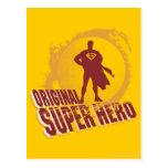 Superman Original Super Hero Post Card