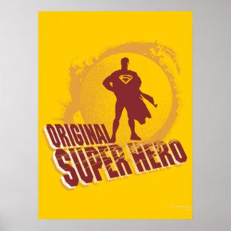 Superman Original Super Hero Poster