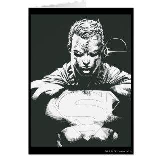 Superman Outline Card