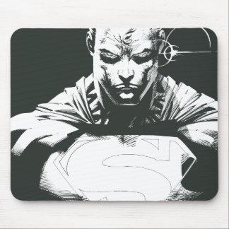 Superman Outline Mouse Mat