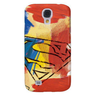 Superman Painted Logo Galaxy S4 Case